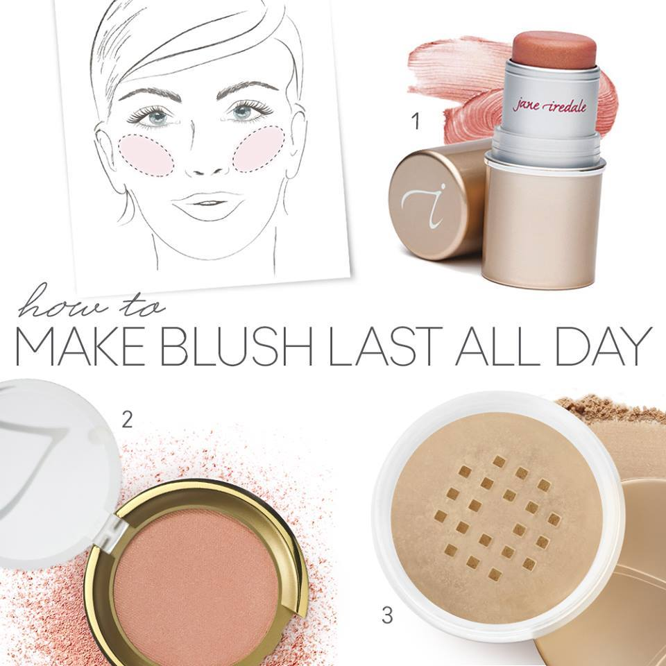 How to keep your blush looking fresh all day